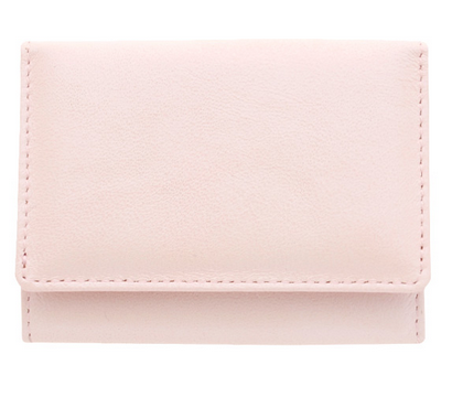 ベッカー社 極小財布 シープスキン ピンク